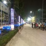 2013年年会工业园的夜晚